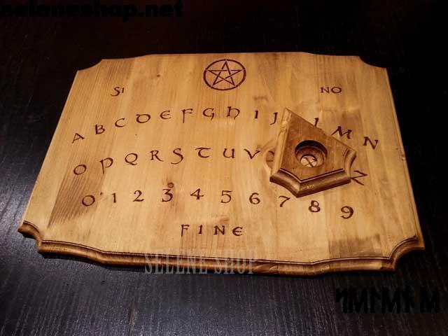 Tavola ouija in legno
